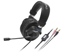 audio-technica headphone stereo headset black ATH-770COM