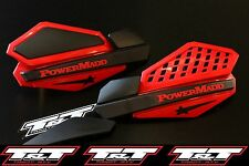 powermadd red hand guards N-STOCK power madd handguard honda trx 400ex star 400x