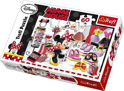 Trefl 60 Pieza Niños Chicas Disney Minnie Mouse Rompecabezas nuevos zapatos de compras