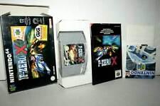 F-ZERO X USATO COME NUOVO NINTENDO 64 N64 EDIZIONE ITALIANA GIG IT1 39927