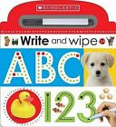 Write and Wipe ABC 123 by Scholastic (Hardback, 2015)
