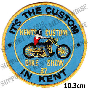 HELLS-ANGELS-KENT-CUSTOM-BIKE-SHOW-1987-Patch-HIGHLY-COLLECTABLE-RARE-KBCS