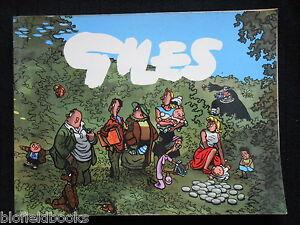 GILES-ANNUAL-10-10th-Series-Political-Satirical-Cartoons-1956-1st-Clipped
