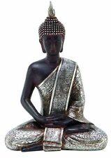 Buddha Sitting Statue Home Peace Decor Harmony Figurine Meditating Thai Buddhist