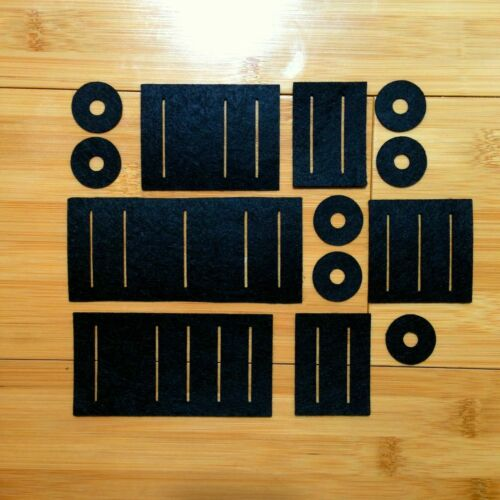 Full Set of New Replacement Slider Dust Guards// Gaskets for Roland Juno 6 or 60