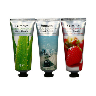 FARM STAY VISIBLE DIFFERENCE HAND CREAM STRAWBERRY