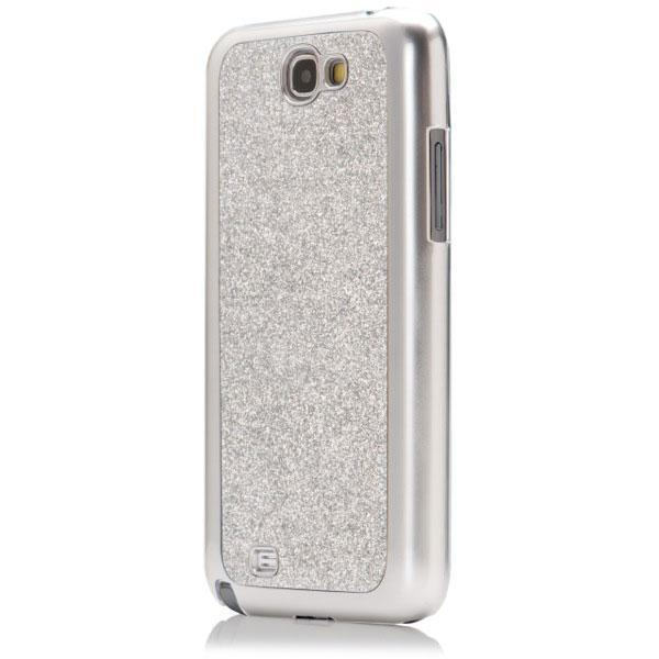 new product a4fde 711bf Versio Mobile Vm-20269 Glitter Case for Samsung Note 2 - Silver