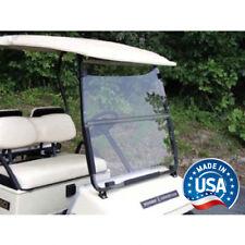 Yamaha G2 G9 Tinted Fold Down Golf Cart Windshield - US Made