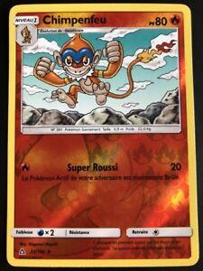 Carte-Pokemon-CHIMPENFEU-22-156-REVERSE-Soleil-et-Lune-5-SL5-FR-NEUF