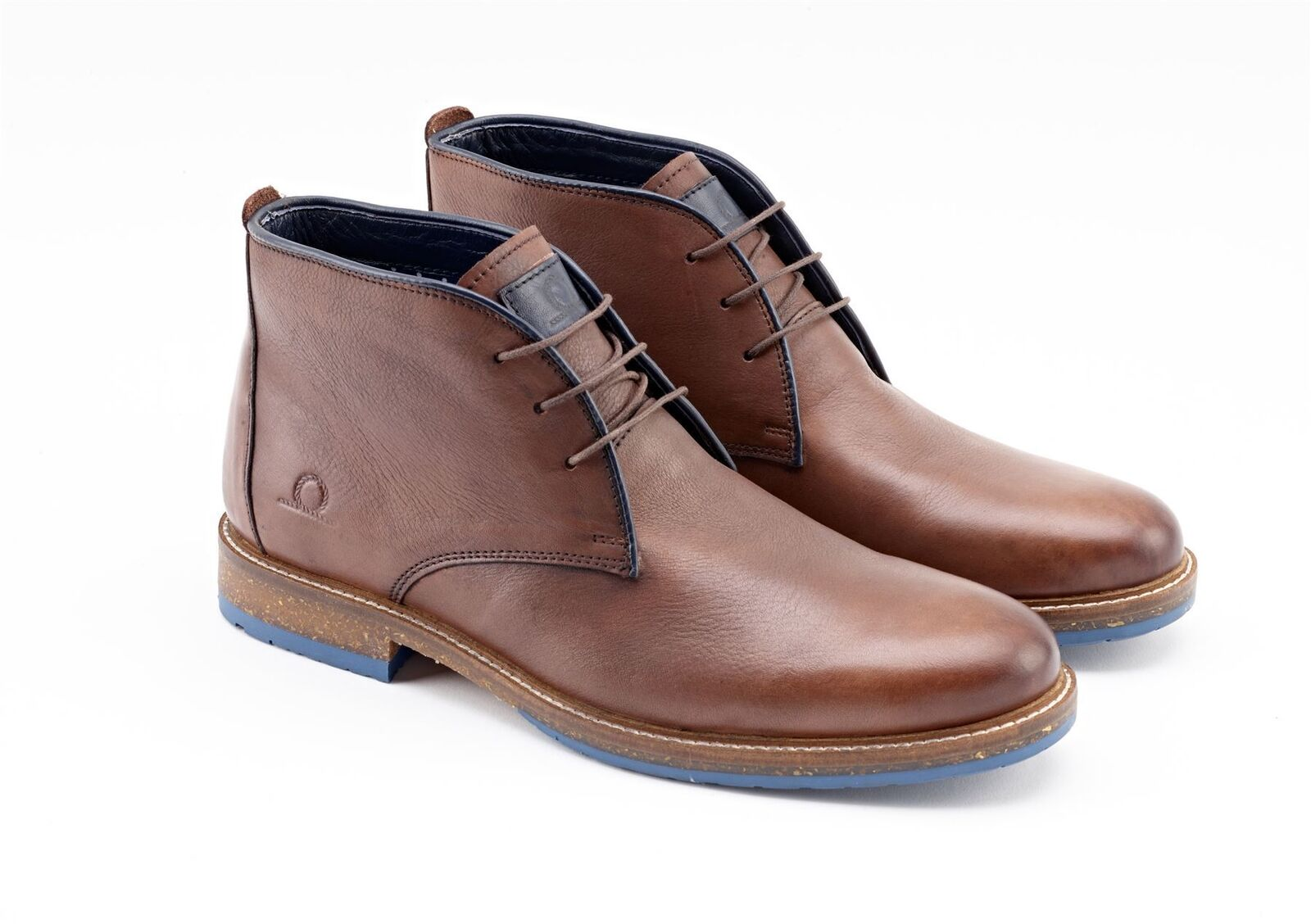 Chatham Chatham Chatham Perry Chukka in Pelle-Marrone f0cd01