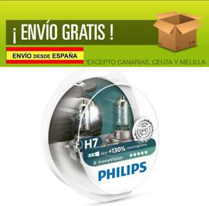 2 X bombillas Philips X-Treme Vision H7 130 Extreme Xtreme faros Halogeno coche