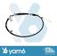 frein de stationnement NO.2 46420-B4010 Genuine TOYOTA Cable Assy