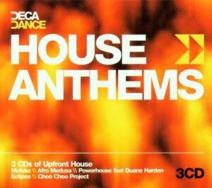 Various-Artists-Deca-Dance-House-Anthems-CD-Box-set-New