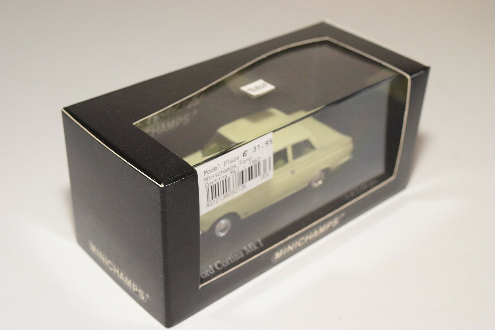 MINICHAMPS FORD CORTINA MKI MKI MKI MK1 1962 LIME verde MINT BOXED f99f77