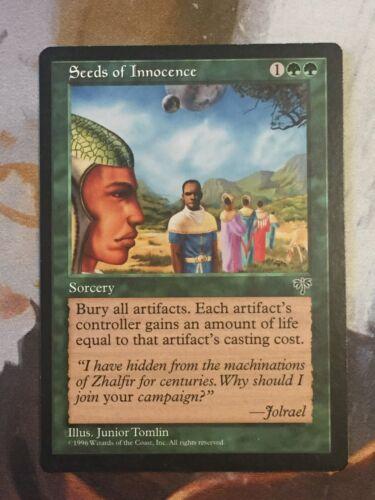 Seeds of Innocence LP *Qnty*-Mirage-Magic the Gathering