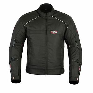 MCW-Gear-Black-Hawk-Mens-Motorcycle-Motorbike-Textile-Cordura-Jacket-CE-Armoured