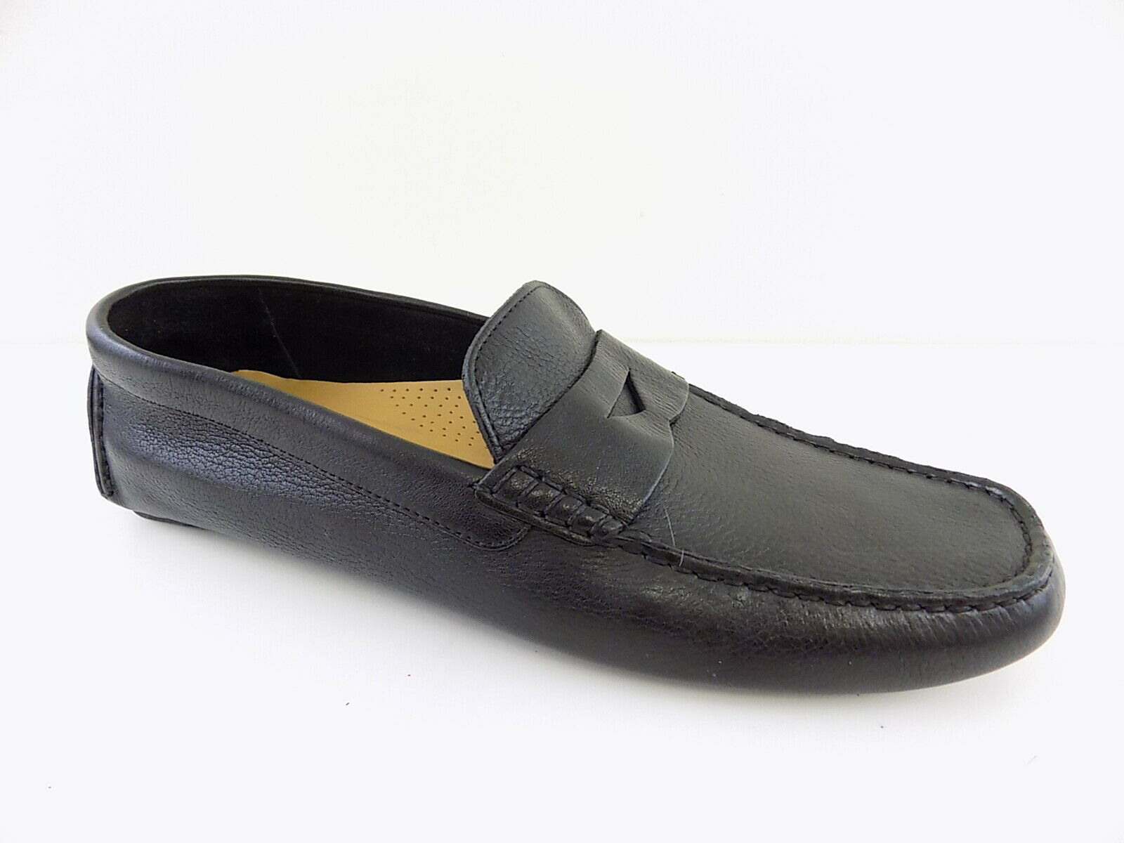 Cole Haan  145 HOWLAND Black MEN SZ 12M Loafers & Slip Ons PENNY shoes D16