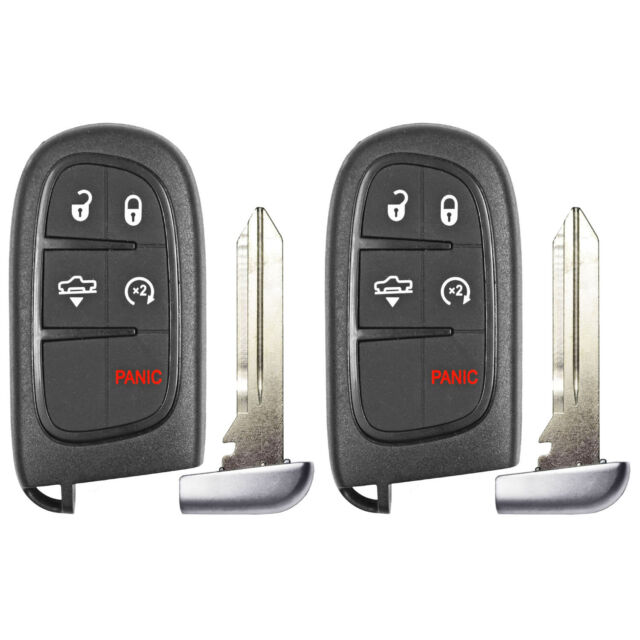 2x Fits 2013 2014 2015 2016 2017 2018 Ram 5b Air Suspension Remote Key GQ4-54T