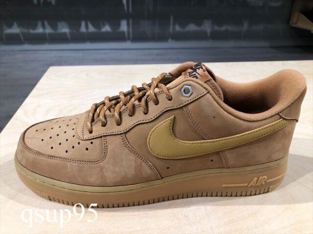 nike air force 1 low brown suede