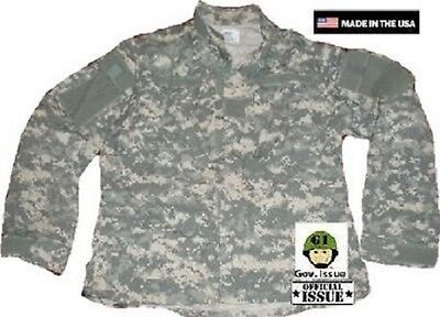 FäHig Us Army Ucp Acu At Digital Camouflage Jacke Shirt Coat Mxs Medium X Short