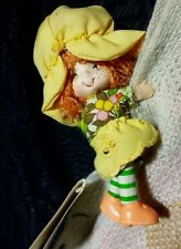 Vtg Clip-on Huggy The Flower Girl collection by Another Fine Product 1982 Korea