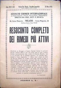 1925-RICETTARIO-FARMACEUTIO-PUBBLICITARIO-ISTITUTO-CHIMICO-Prof-RIVALTA-MILANO