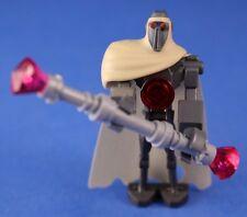 LEGO® brick STAR WARS™ Custom MAGNA GUARD™ minifigure + Cape & Staff