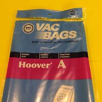 Type A Hoover Upright Vacuum Bissell Style 2 Kenmore 5037 50378 9 Bags Made Usa
