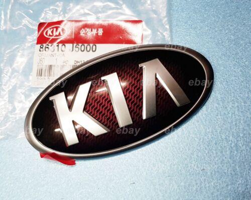 OEM Bright Carbon Front Grill Emblem Badge KIA K9 K900 Quoris 2018 #86310J6000