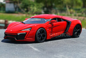 Details about  /1:24 LYKAN Hypersport Diecasts /& Toy Vehicles Toy Metal Toy Car Model Pull Back