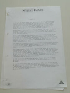 MYLENE-FARMER-SPANISH-PROM0-PRESS-BIO-SHEET-1988-2-Pag
