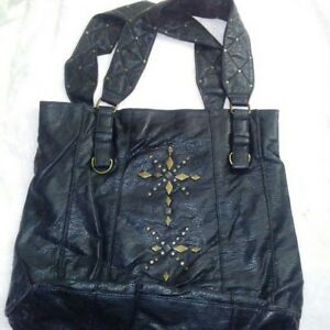 Details about Converse One Star Women's Black Leather Purse
