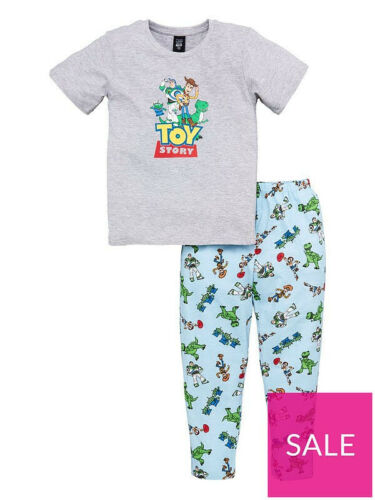 Ex Chain Store Official Disney Toy Story 4 Boys Kids Pyjamas Pajamas 6 7 8 10 12
