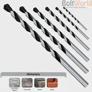 Tungsten Carbide Cutting Head//Tip Loops PRO 6mm x 160mm SDS Plus Masonry Drill Bit