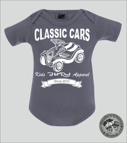 personalisierter Rockabilly Punk Classic Cars Baby Body Bobbycar 3103