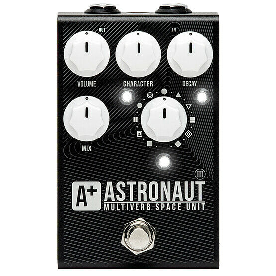 A+ by Shift Line Astronaut III 3 V3 Ambient Space Shimmer Modulated Reverb Pedal