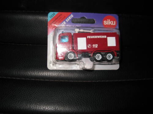 SIKU SUPER SERIES MERCEDES FIRE ENGINE WATER CANON #1034 OLD STOCK CLOSE TO 155