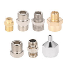 7x Airbrush Adaptor Adapter Kit Fitting Connector Set For Compressor Hose