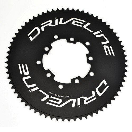 Fast Shipping Driveline 69T AL7075 Road Bike TT Chainring 69T, BCD 110/130mm