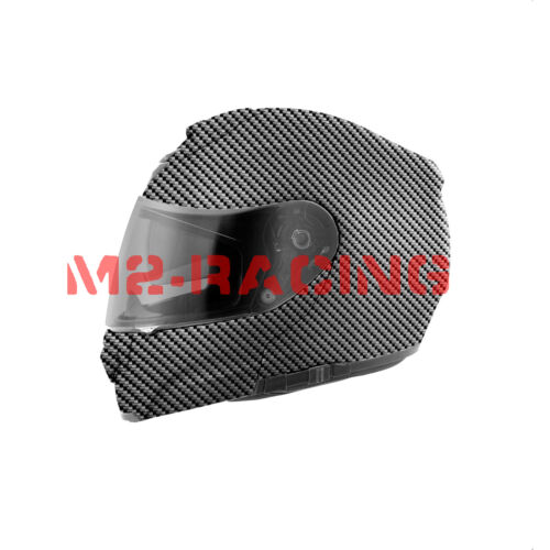 "19/""x78/"" Hydrographic Film Hydro Dipping Dip Water Transfer Black Carbon Fiber #6"