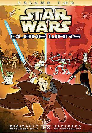 Star Wars Clone Wars Volume Two Dvd 2005 For Sale Online Ebay