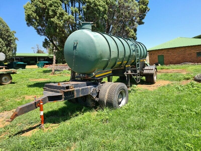 Tanker Trailer and Dolly
