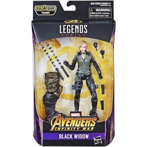 Marvel leggende Avengers Infinity War Black Widow 6 Pollici Figura CONSEGNA GRATUITA