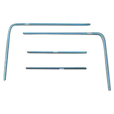 1965-66 Ford Mustang Fastback Rear Window Molding 4-Pieces New