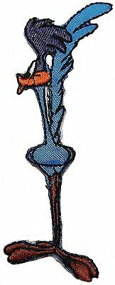 """Looney Tunes Road Runner Running 4/"""" Wide Embroidered Set of 3 Patches"""