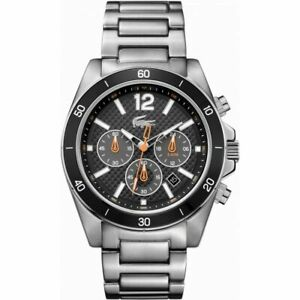 Mens Lacoste Seattle Chronograph Watch 2010834 NEW
