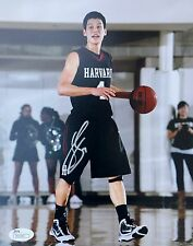 Jeremy Lin Harvard Crimson Signed 8x10 Photo JSA P55545