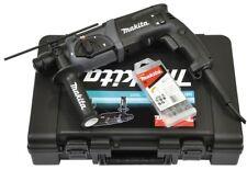 Makita HR2470BX40 Bohrhammer/Kombihammer HR2470 inkl. SDS-Plus Bohrer Set 5tlg.