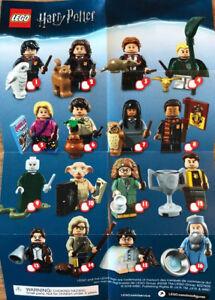 LEGO-HARRY-POTTER-Serie-1-MINIFIGURES-scegliere-un-nuovo-Re-SIGILLATO-CMF-71022-Set