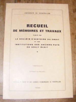 Maurice Bordes Charges Locales des Communautés de Gascogne XVIIIe s. 1980 Gers
